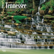 Tennessee, Wild & Scenic 2018 12 x 12 Inch Monthly Square Wall Calendar