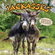 Jackasses 2018 12 x 12 Inch Monthly Square Wall Calendar
