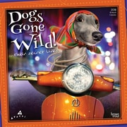 Avanti Dogs Gone Wild 2018 12 x 12 Inch Monthly Square Wall Calendar