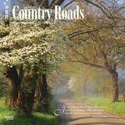 Country Roads 2018 12 x 12 Inch Monthly Square Wall Calendar