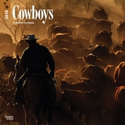 Cowboys 2018 12 x 12 Inch Monthly Square Wall Calendar