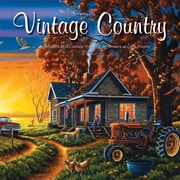 Vintage Country 2018 12 x 12 Inch Monthly Square Wall Calendar by Hopper Studios Featuring Artwork by Lynn Garwood