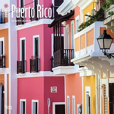 Puerto Rico 2018 12 x 12 Inch Square Wall Calendar 24115559