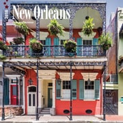 New Orleans 2018 12 x 12 Inch Monthly Square Wall Calendar