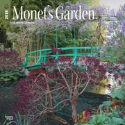 Monet's Garden 2018 12 x 12 Inch Monthly Square Wall Calendar