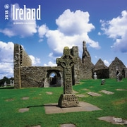 Ireland 2018 12 x 12 Inch Square Wall Calendar