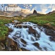 Colorado, Wild & Scenic 2018 12 x 14 Inch Monthly Deluxe Wall Calendar
