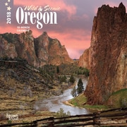 Oregon, Wild & Scenic 2018 7 x 7 Inch Monthly Mini Wall Calendar