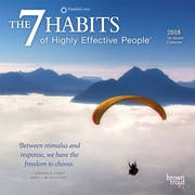 7 Habits of Highly Effective People, The 2018 7 x 7 Inch Monthly Mini Wall Calendar