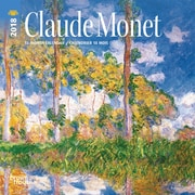 Monet, Claude 2018 7 x 7 Inch Monthly Mini Wall Calendar
