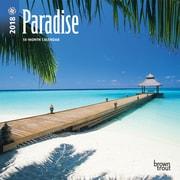 Paradise 2018 Mini 7 x 7 Inch Wall Calendar