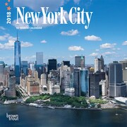 New York City 2018 7 x 7 Inch Monthly Mini Wall Calendar