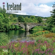 Ireland 2018 Mini 7 x 7 Inch Wall Calendar