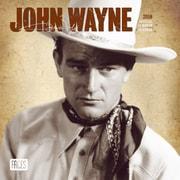John Wayne 2018 7 x 7 Inch Monthly Mini Wall Calendar by Faces
