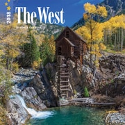 West, The 2018 7 x 7 Inch Monthly Mini Wall Calendar