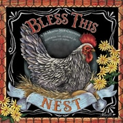 Bless This Nest 2018 7 x 7 Inch Monthly Mini Wall Calendar by Hopper Studios