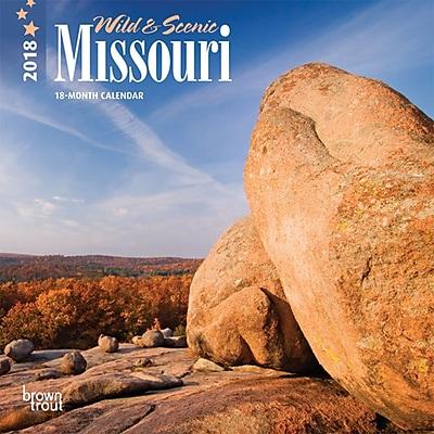 Missouri, Wild & Scenic 2018 7 x 7 Inch Monthly Mini Wall Calendar
