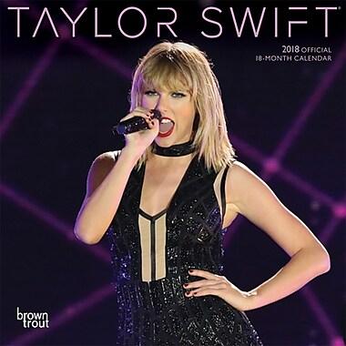 Taylor Swift 2018 7 x 7 Inch Monthly Mini Wall Calendar