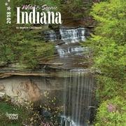 Indiana, Wild & Scenic 2018 7 x 7 Inch Monthly Mini Wall Calendar
