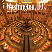 Washington, D.C. 2018 7 x 7 Inch Monthly Mini Wall Calendar
