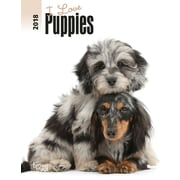I Love Puppies 2018 Engagement Calendar