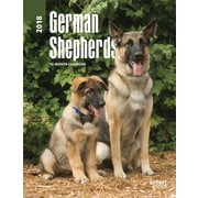 German Shepherds 2018 Engagement Calendar
