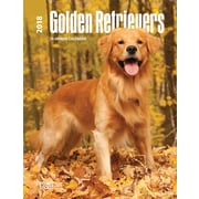 Golden Retrievers 2018 Engagement Calendar