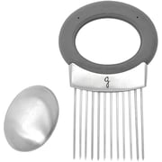 Starfrit Onion Holder with Odor Remover Soap, Gray (080410-006-0000)