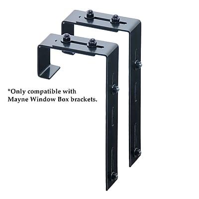 Mayne Deck Rail Brackets Black (3832)