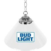 "Trademark Global® 14"" Single Shade Bud Lite Bar Lamp, Blue/White (AB1200-BL)"