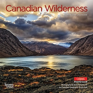 Canadian Wilderness 2018 7 x 7 Inch Monthly Mini Wall Calendar