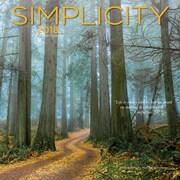 Simplicity 2018 12 x 12 Inch Square Wall Calendar by Wyman