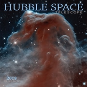 Hubble Space Telescope 2018 12 x 12 Inch Square Wall Calendar by Wyman