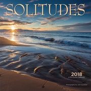 Solitudes 2018 12 x 12 Inch Square Wall Calendar by Wyman