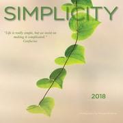 Simplicity 2018 Mini 7 x 7 Inch Wall Calendar by Wyman