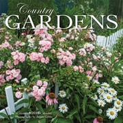 Country Gardens 2018 7 x 7 Inch Monthly Mini Wall Calendar by Wyman