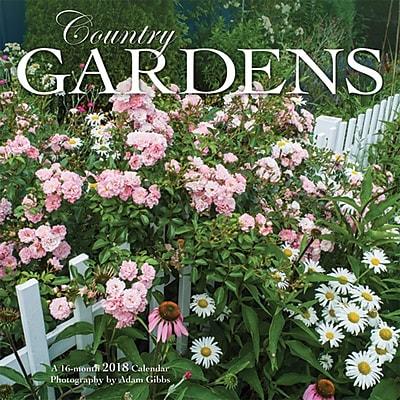 Country Gardens 2018 7 x 7 Inch Monthly Mini Wall Calendar by Wyman