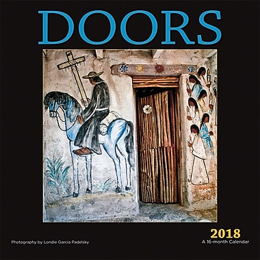 Doors 2018 12 x 12 Inch Monthly Square Wall Calendar by Wyman