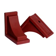 Mayne Nantucket Decorative Corbels Red 2 pack (4828-R)