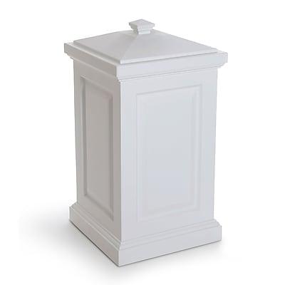 Mayne Berkshire Bin 45 Gallon White (4835-W)