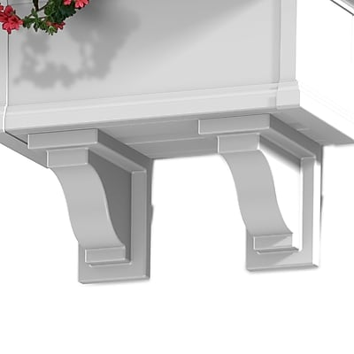 Mayne Yorkshire Decorative Corbels White 2 pack (4821-W)