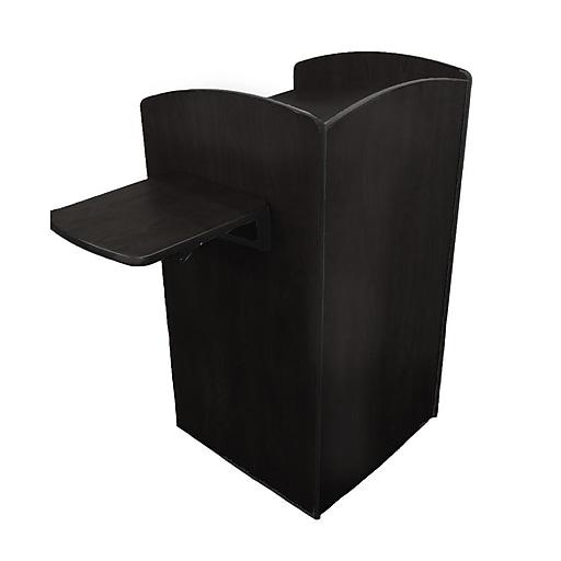 """Amplivox 48""""H Flash Podium, Black Finish (SN3610-BK)"""