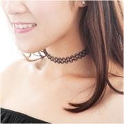 Zodaca Women's Fashion Extendable Gothic Tattoo Choker Necklace Jewelry - Black (2309978)