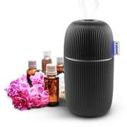 INNOKA Ultrasonic Aroma Fragrance Essential Oil Diffuser, 110ml Portable USB Cool Mist Humidifier, Black