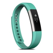 Zodaca For Fitbit Alta - Small S Size TPU Rubber Wristband Replacement Sports Watch Wrist Band Strap - Light Blue