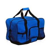 Natico Blue Polyester Travel Duffel Bag (60-DB-01BL)