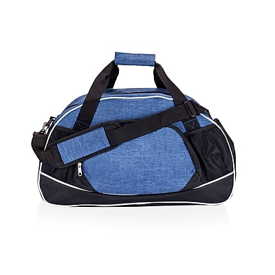 Natico Blue and Black Polyester All Sport Duffel Bag (60-DB-18BL)