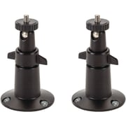Wasserstein Security Wall Mount for Arlo/Arlo Pro, 2pk, Black (MetalMountBlack2USA)