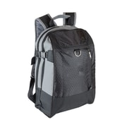 Natico Black and Grey Polyester Multi-Purpose Backpack (60-BP-64BK)