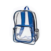 Natico Black and Blue Polyester Sports Backpack (60-BP-29BL)